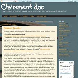 Clairement doc: Presse