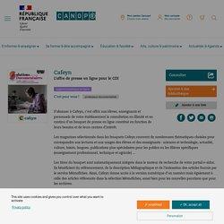 L'offre de presse en ligne pour le CDI - Cafeyn - Réseau Canopé