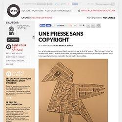 Une presse sans copyright