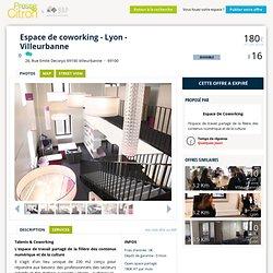 Presse Citron : Coworking Villeurbanne : Espace de coworking - Lyon - Villeurbanne