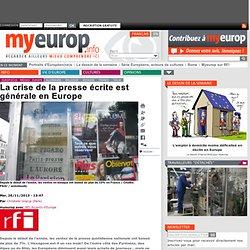 La crise de la presse écrite est générale en Europe