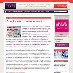 Presse française : Les causes du déclin