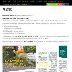 PRESSE - Les Incroyables Comestibles