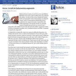 Presse : le défi de l'information augmentée