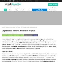 La presse au moment de l'affaire Dreyfus