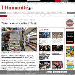 La vision positive de l'Humanité sur la presse : le numérique limite l'érosion