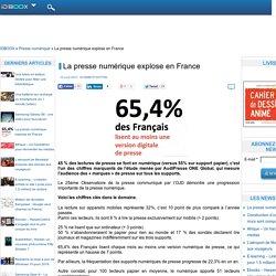 La presse numérique explose en France