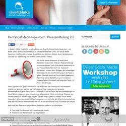 Der Social Media Newsroom: Pressemitteilung 2.0
