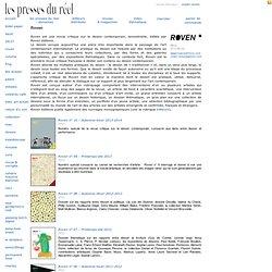 les presses du réel – Roven magazine