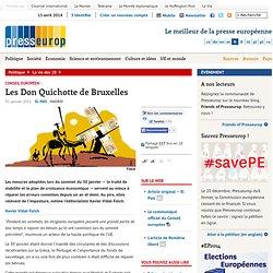 Les Don Quichotte de Bruxelles