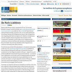De Paris à Athènes