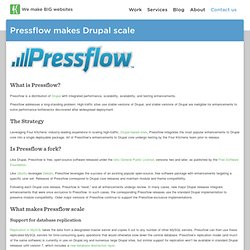 Pressflow makes Drupal scale | Four Kitchens: the Drupal experts