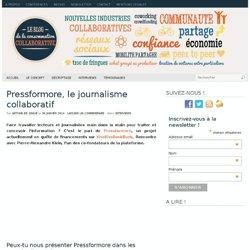 Pressformore, le journalisme collaboratif