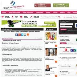 Pressing / Teinturerie - Fiches conseils - cession-commerce.com
