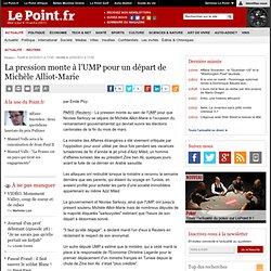 La pression monte à l'UMP pour un départ de Michèle Alliot-Marie, actualité Reuters : Le Point