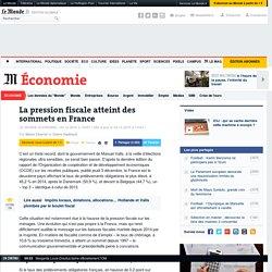 La pression fiscale atteint des sommets en France
