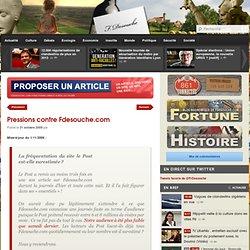 Pressions contre Fdesouche.com