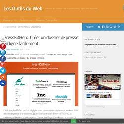 PressKitHero. Créer un dossier de presse en ligne facilement