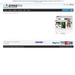 Upload your PDF file