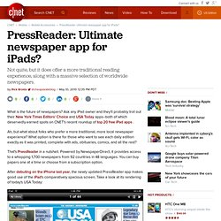 PressReader: Ultimate newspaper app for iPads?
