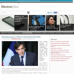 Mettling propose à Fillon de démembrer Presstalis - Old fashion media - ElectronLibre