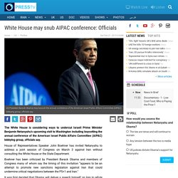 PressTV-Obama may turn his back on AIPAC
