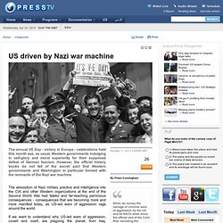 US driven by Nazi war machine
