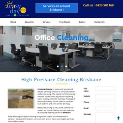 Pressure Cleaning Brisbane - High Pressure Cleaners Brisbane