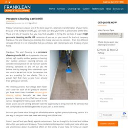 Pressure Cleaning Castle Hill -Franklean Carpet & Tile