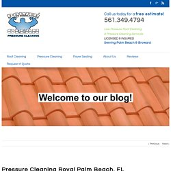Pressure Cleaning Royal Palm Beach, FL