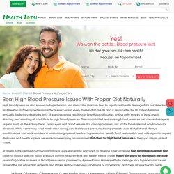 Blood Pressure Management plan