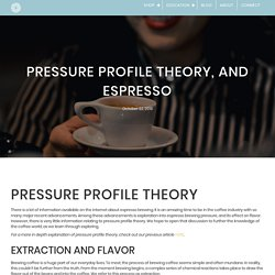 Pressure Profile Theory, and Espresso - Branch Street Coffee