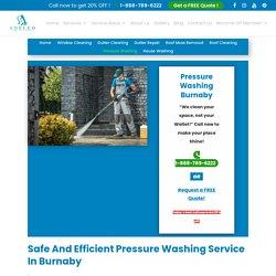 Pressure Washing Burnaby