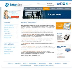 SmartSoft | PressWise Web-to-print and Workflow Software at OnDemand