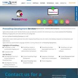 Prestashop Development Services