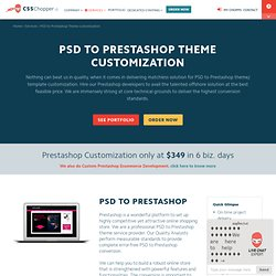 PSD to Prestashop Theme / Template, Convert PSD to Prestashop Integration