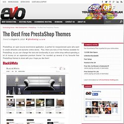 20 of the Best Free PrestaShop Themes – UK Web Hosting – Uk Web Design Blog