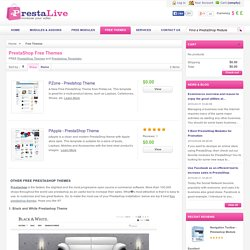 FREE PrestaShop Themes and PrestaShop Templates