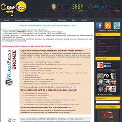 CreaNico prestataire pour réalisation de sites Wordpress et PrestaShopCreaNico prestataire pour réalisation de sites Wordpress et PrestaShop