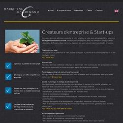 Prestations pour les créateurs d'entreprise
