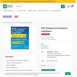 BTS Transport et Prestations Logistiques pas cher