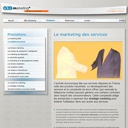 ABC Marketing, études et conseils - Prestations - Le Marketing des Services - ABC Marketing, votre partenaire pour réaliser des études B2B.