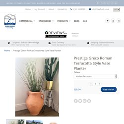 Prestige Greco Roman Terracotta Style Vase Planter