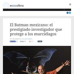 El Batman mexicano: el prestigiado investigador que protege a los murciélagos