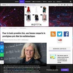 Pour la toute première fois, une femme remporte le prestigieux prix Abel de mathématiques