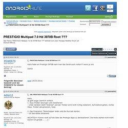 PRESTIGIO Multipad 7.0 Hd 3970B Root ???