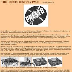 Presto History