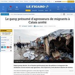 Le gang présumé d'agresseurs de migrants à Calais arrêté