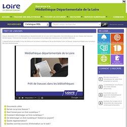 Prêt de liseuses (Médiathèque départementale de la Loire)