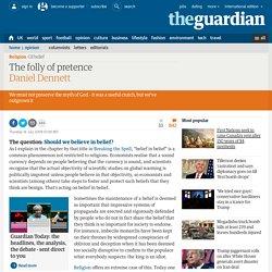 The folly of pretence